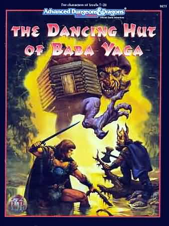 Dungeons and Dragons 2nd ed: the Dancing Hut of Baba Yaga - Used