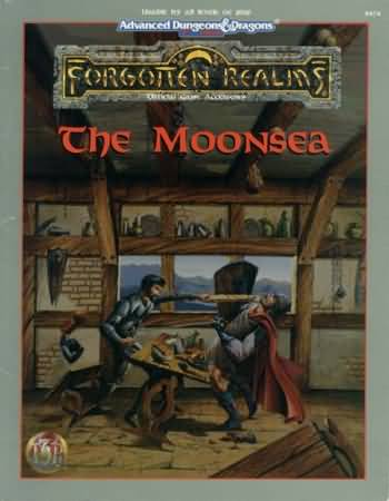 Dungeons and Dragons 2nd ed: Forgotten Realms: the Moonsea - Used