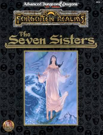 Dungeons and Dragons 2nd ed: Forgotten Realms: the Seven Sisters - Used