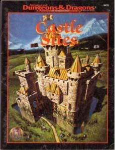 Dungeons and Dragons 2nd ed: Castle Sites - Used