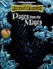 Dungeons and Dragons 2nd ed: Forgotten Realms: Pages from the Mages - Used