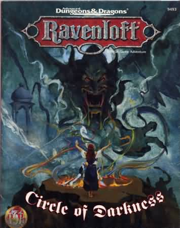 Dungeons and Dragons 2nd ed: Ravenloft: Circle of Darkness - Used