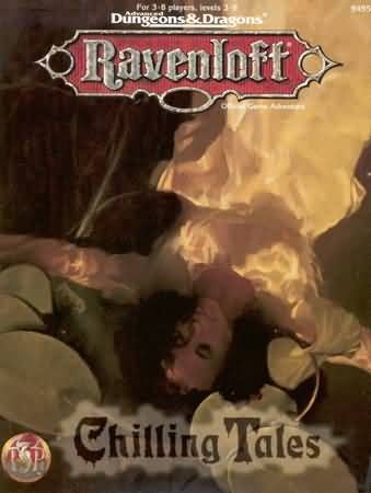 Dungeons and Dragons 2nd ed: Ravenloft: Chilling Tales - Used
