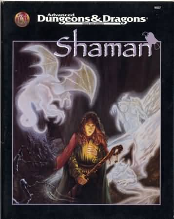 Dungeons and Dragons 2nd ed: Shaman - Used