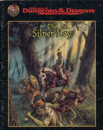 Dungeons and Dragons 2nd ed: the Silver Key - Used