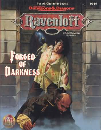 Dungeons and Dragons 2nd ed: Ravenloft: Forged of Darkness - Used
