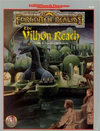 Dungeons and Dragons 2nd ed: Forgotten Realms: the Vilhon Reach - Used