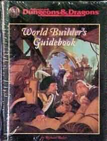 Dungeons and Dragons 2nd ed: World Builders Guidebook - Used