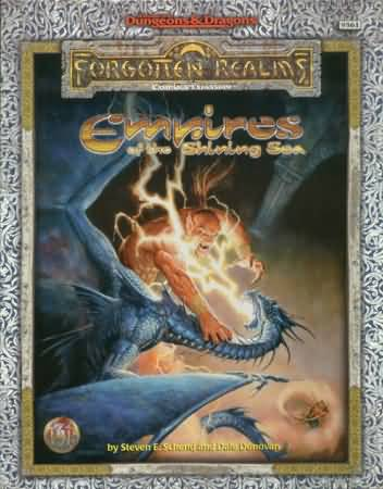 Dungeons and Dragons 2nd ed: Forgotten Realms: Empires of the Shining Sea Box Set - Used