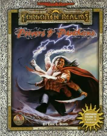 Dungeons and Dragons 2nd ed: Forgotten Realms: Powers and Pantheons