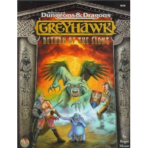 Dungeons and Dragons 2nd ed: Greyhawk: Return of the Eight