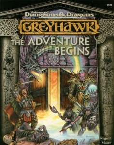 Dungeons and Dragons 2nd ed: Greyhawk: the Adventure Begins - Used