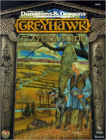 Dungeons and Dragons 2nd ed: Greyhawk: Players Guide: 9578 - Used