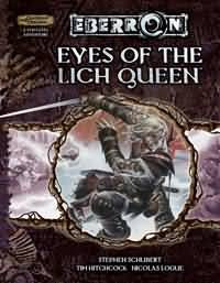 Dungeons and Dragons 3.5 ed: Eberron: Eyes of the Ligh Queen - Used