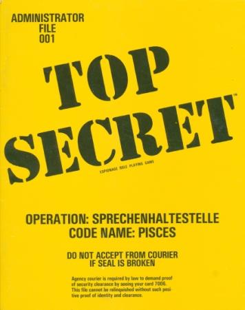 Top Secret: Operation: Sprechenhaltestelle: Code Name: PISCES