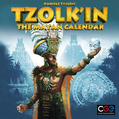 Tzolk In the Mayan Calendar Board Game (Czech Games)