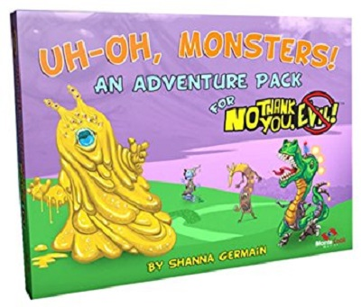 No Thank You Evil: Uh Oh Monsters Expansion