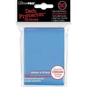 Deck Protector: 100 sleeves: Solid Blue
