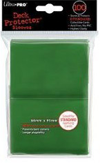 Deck Protector: 100 sleeves: Solid Green