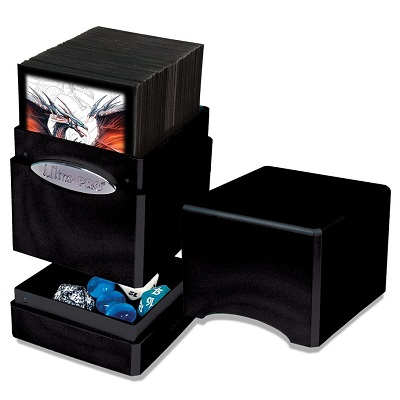 Deck Box: Satin Tower: Hi-Gloss Midnight 85414