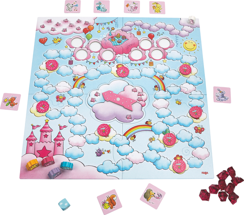 Unicorn Glitterluck: A Party for Rosalie Board Game