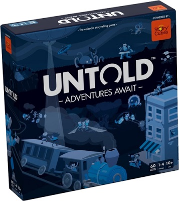Untold: Adventures Await Storytelling Game (New Printing)