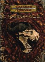 Dungeons and Dragons 3.5 ed: Monster Manual III - Used