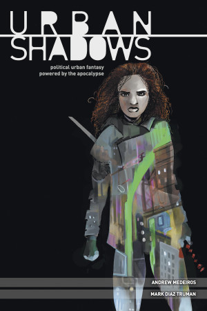 Urban Shadows RPG Hardcover - Used