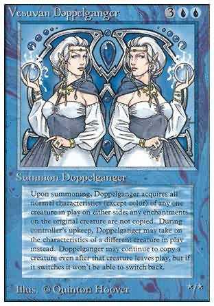 Vesuvan Doppelganger - Revised