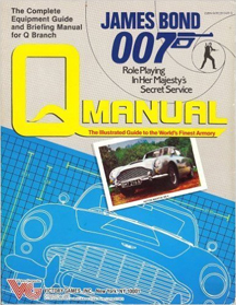 James Bond 007 Role Playing: Q Manual - Used