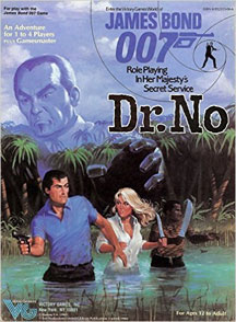 James Bond 007 Role Playing in Her Majestys Secret Service: Dr. No Box Set - Used