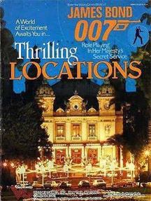 James Bond 007 Role Playing: Thrilling Locations - Used