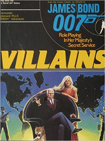 James Bond 007 Role Playing: Villains Box Set - Used