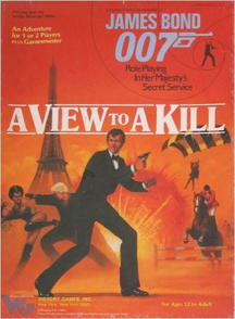 James Bond 007 Role Playing: A View to a Kill Box Set - Used