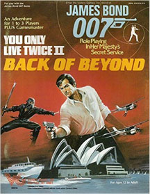 James Bond 007: You Only Live Twice II: Back of Beyond - Used