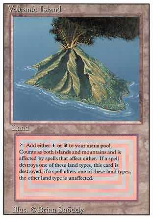 Volcanic Island - Revised
