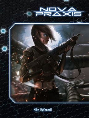 Nova Praxis Role Playing Hard Cover - Used