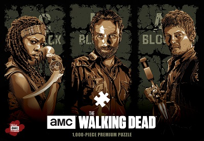 The Walking Dead: Fight the Dead Fear the Living Puzzle (1000 Pieces)