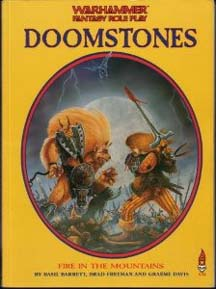 Warhammer Fantasy Role Play: Doomstones: Fire in the Mountains - Used