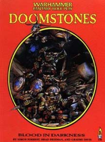 Warhammer Fantasy Role Play: Doomstones: Blood in Darkness - Used
