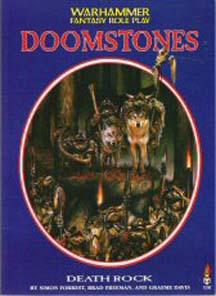 Warhammer Fantasy Role Play: Doomstones: Death Rock - Used