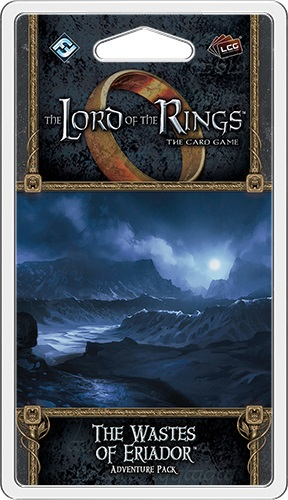 The Lord of the Rings the Card Game: The Wastes of Eriador Adventure Pack