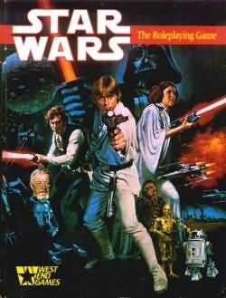 Star Wars: the Roleplaying Game: 1st ed - Used