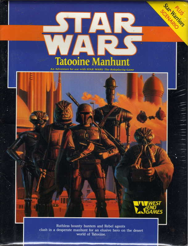 Star Wars Role Playing Game: Tatooine Manhunt - USED