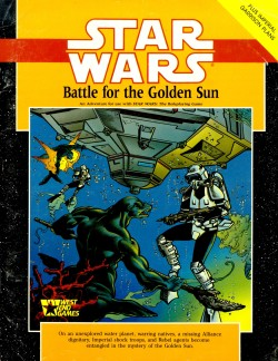 Star Wars RPG: Battle for the Golden Sun - Used