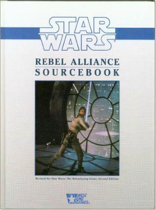 Star Wars 2nd Ed : Rebel Alliance Sourcebook Hard Cover - Used
