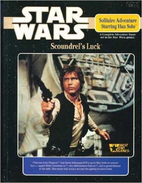 Star Wars: Solitaire Adventure Starring Han Solo: Scoundrels Luck - Used