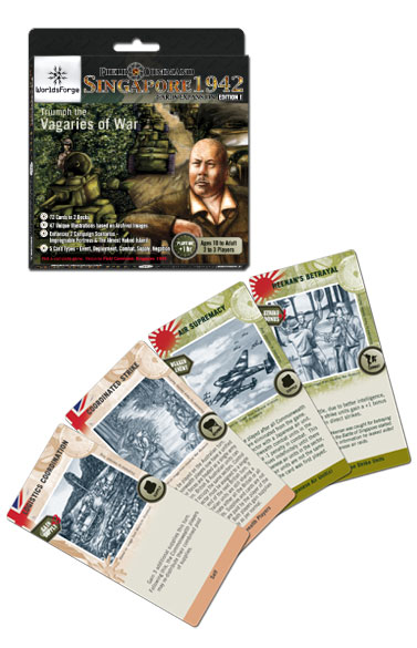 Field Command: Singapore 1942: Triumph the Vagaries of War Card Expansion
