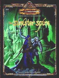 Dungeons and Dragons 3.5 ed: The sinister Spire - Used