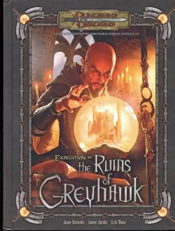 Dungeons and Dragons 3.5 ed: Expedition to the Ruins of Greyhawk - Used